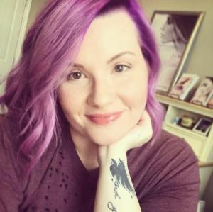 AD purple hair